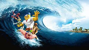 Fotos SpongeBob Schwammkopf The SpongeBob Movie Sponge Out of Water 2015