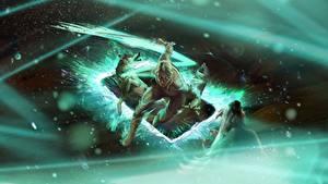 Hintergrundbilder The Witcher 3: Wild Hunt Cirilla Gwent: the witcher card game Mädchens