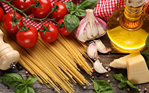 Hintergrundbilder Tomate Käse Knoblauch Makkaroni Lebensmittel