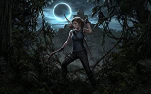Fotos Tomb Raider Lara Croft Mond Shadow of the Tomb Raider