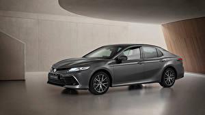Fotos Toyota Graues Metallisch Camry Hybrid, EU-spec, 2020 Autos