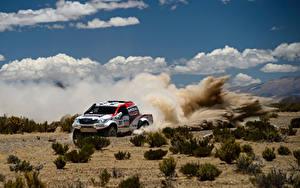 Hintergrundbilder Toyota Wolke Rallye Hilux automobil Sport