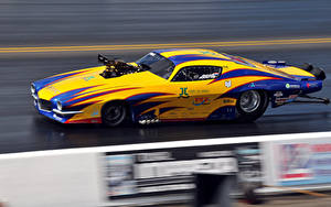 Fotos Fahrzeugtuning Bewegung Seitlich drag racing Sport Autos