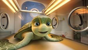 Hintergrundbilder Schildkröten Sammy's avonturen 2010 Animationsfilm 3D-Grafik