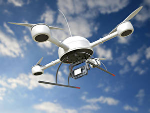 Hintergrundbilder UAV Quadrokopter Flug Luftfahrt 3D-Grafik