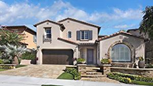 Fotos USA Gebäude Kalifornien Herrenhaus Design Garage Aliso Viejo Städte