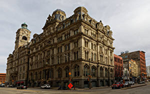 Fotos Vereinigte Staaten Gebäude Bank Straße Milwaukee, Mitchell Building Städte