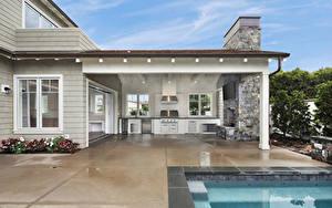 Fotos Vereinigte Staaten Haus Innenarchitektur Kalifornien Eigenheim Design Newport Beach Städte