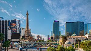 Bilder Vereinigte Staaten Haus Las Vegas Straße Turm Städte