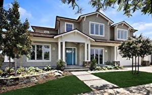 Bilder Vereinigte Staaten Gebäude Kalifornien Eigenheim Design Newport Beach Städte