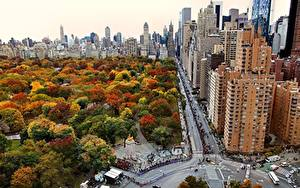 Fotos USA Haus Park New York City Manhattan Städte