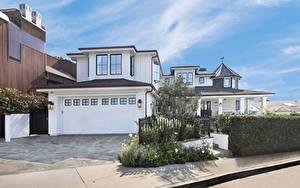 Fotos Vereinigte Staaten Haus Kalifornien Herrenhaus Design Garage Zaun Straßenlaterne San Clemente Städte