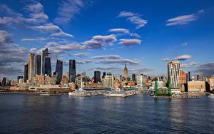 Bilder USA Haus Wolkenkratzer New York City Städte