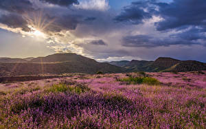 Bilder Vereinigte Staaten Berg Himmel Wolke Sonne Hügel Grand Canyon, Clarkdale