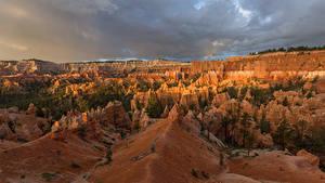 Fotos USA Parks Canyon Felsen Bryce Canyon National Park