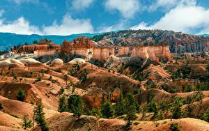 Fotos Vereinigte Staaten Park Felsen Canyons Bryce Canyon National Park, Utah