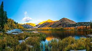 Bakgrunnsbilder Amerika Landskapsfotografering Fjell Innsjø California Natur