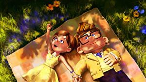 Hintergrundbilder Oben Carl, Ellie Animationsfilm