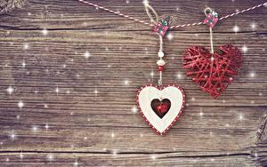 Bilder Valentinstag Herz Bretter Vorlage Grußkarte