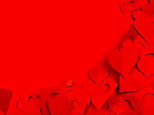 Bilder Valentinstag Vorlage Grußkarte Rot Herz Roter Hintergrund