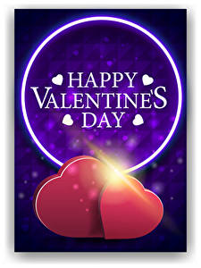 Desktop hintergrundbilder Valentinstag Vektorgrafik Englisch Wort Herz 2 Lichtstrahl