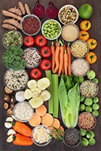 Hintergrundbilder Gemüse Gewürze Tomate Peperone Mohrrübe Lebensmittel