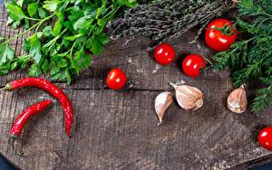 Hintergrundbilder Gemüse Tomate Chili Pfeffer Knoblauch Dill das Essen