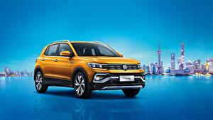 Images Volkswagen Yellow 2019 T-Cross 280 TSI