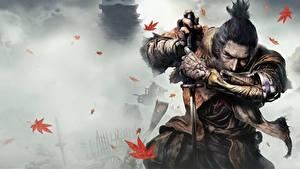 Hintergrundbilder Krieger Sekiro: Shadows Die Twice Samurai Schwert Hand Ninja Spiele