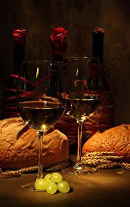 Bilder Wein Brot Weintraube Flasche Weinglas Ähre