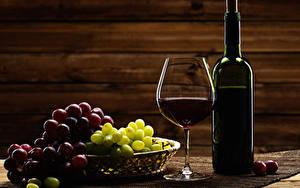 Fotos Wein Weintraube Flasche Weinglas das Essen