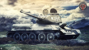Bilder World of Tanks Panzer Russische  Spiele