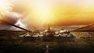 Hintergrundbilder World of Tanks Panzer Russischer IS-7, IS-8, IS-4 Spiele