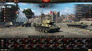 Bilder WOT Panzer T-34 Russische Spiele Heer