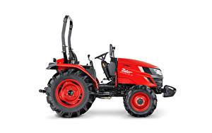 Hintergrundbilder Traktoren Rot Seitlich Weißer hintergrund Zetor Compax CL 35, 2020