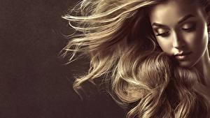 Fotos Haar Dunkelbraun Model Gesicht by Sofia Zhuravets junge frau