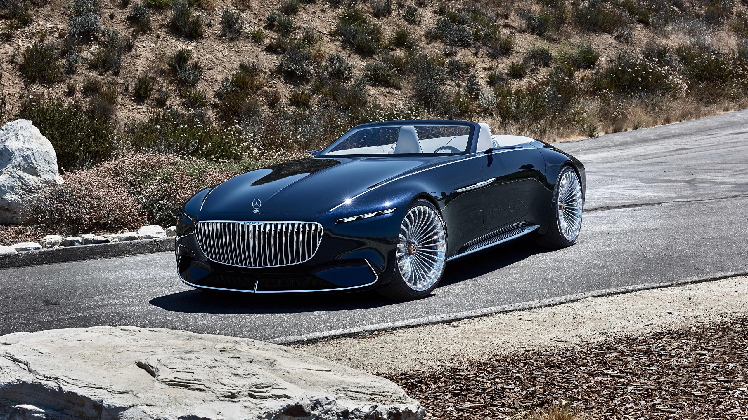 Fondos De Pantalla 2560x1440 Mercedes Benz 2017 Vision