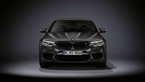 Bureaubladachtergronden BMW Vooraanzicht M5 F90 2019 Edition 35 Years Auto