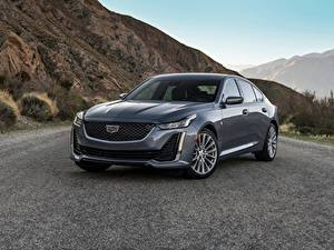 Fotos Cadillac Berg Grau Metallisch CT5, 2020 Autos
