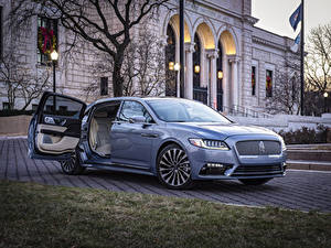 Fotos Lincoln Hellblau Metallisch 2019 Continental 80th Anniversary Coach Door Edition Autos
