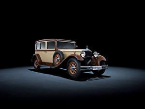 Fotos Mercedes-Benz Retro Grauer Hintergrund  Autos
