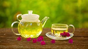 Bilder Flötenkessel Tee Tasse Untertasse