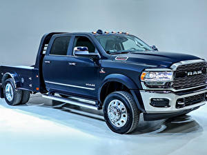 Bilder Dodge Pick-up Blau 2019 Ram 5500 Limited Double Cab Chassis