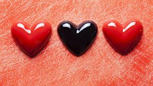 Papéis de parede Dia dos Namorados Três 3 Coração