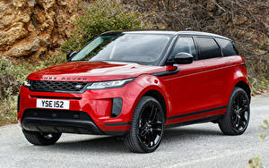 Wallpapers Land Rover Red Metallic Crossover 2019 Evoque D240 S Black Pack Worldwide Cars