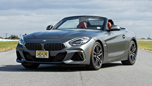 Photo BMW Gray Front Roadster Asphalt Z4 M40i 2019-2020 automobile