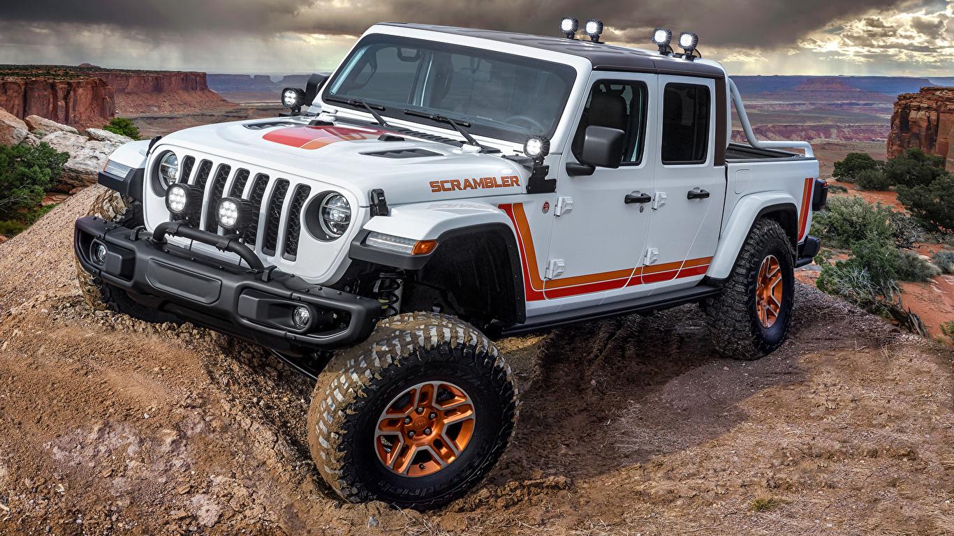 Fondos de Pantalla 1366x768 Jeep 2019 JT Scrambler VUD ...