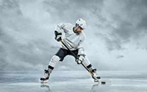 Images Hockey Man Uniform Helmet Sport