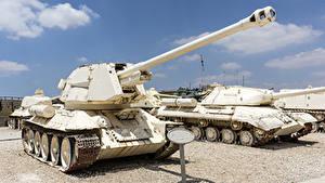 Fotos Panzer T-34 Russische T-34-100 Heer