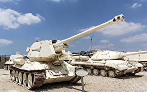 壁纸、、戦車、T-34、ロシアの、T-34-100、陸軍